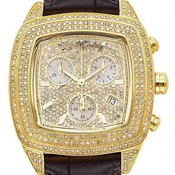 Womens Diamond Watch Joe Rodeo Chelsea JCHE1 5.00 ct Yellow Steel
