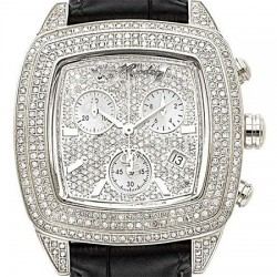 Womens Diamond Watch Joe Rodeo Chelsea JCHE2 5.00 ct Black Leather