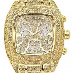 Womens Diamond Watch Joe Rodeo Chelsea JCHE4 13.00 ct Yellow Gold