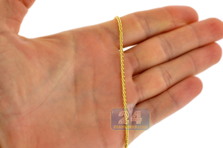 rou round gold beauniq mens cut wheat yellow products rc necklace chains hollow s men chain links diamond spiga