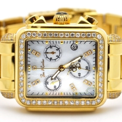 Womens Diamond Gold Watch Joe Rodeo Madison JRMD31 2.00 Carat