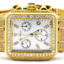 Womens Diamond Gold Watch Joe Rodeo Madison JRMD6 10.25 Carat