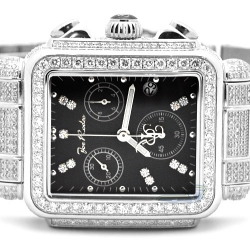 Womens Diamond Watch Joe Rodeo Madison JRMD5 10.25 ct Black