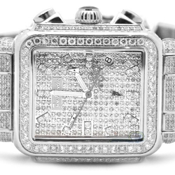 Womens Full Diamond Silver Watch Joe Rodeo Madison JRMD32 12 ct