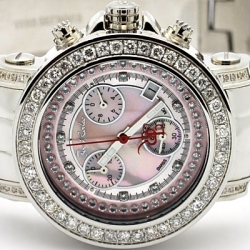 Womens Diamond Pink Dial Watch Joe Rodeo Rio JRO41 2.00 Carats