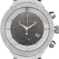 Mens Diamond Watch Joe Rodeo Master JJM12 4.75 ct Black Pave
