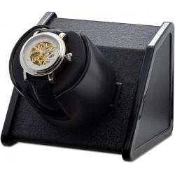 Single Watch Winder W05521 Orbita Sparta Open 1 Black