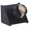 Single Watch Winder W05520 Orbita Sparta Open Black Leather