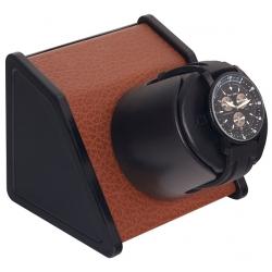Single Watch Winder W05530 Orbita Sparta Open Brown Leather
