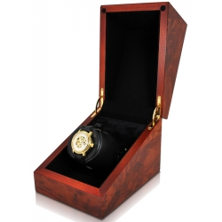 Orbita Sparta 1 Deluxe Watch Winder W06542 Burl Wood