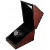 Single Watch Winder W08580 Orbita Siena Rotorwind Burl Wood