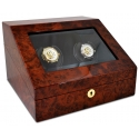 Orbita Siena 2 Rotorwind Watch Winder W13011 Burl Wood