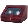 Double Watch Winder W13010 Orbita Siena 2 Rotorwind Teak Wood