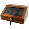 Triple Watch Winder W13000 Orbita Siena Programmable Teak Wood