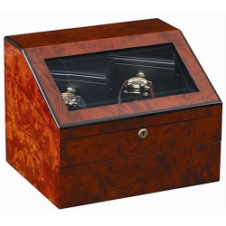 Orbita Sempre 2 Executive Manual Watch Winder W31006 Burl