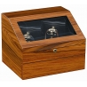 Double Mechanical Watch Winder W31007 Orbita Sempre Executive Teak