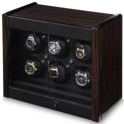 Six Watch Winder Cabinet W70001 Orbita Avanti 6 Rotorwind