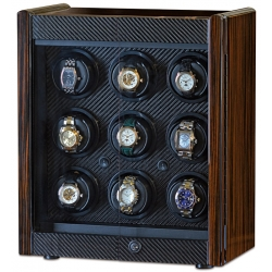 Nine Watch Winder Cabinet W70007 Orbita Avanti 9 Rotorwind