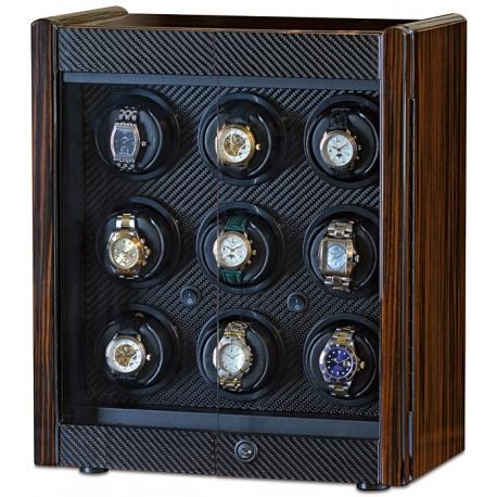 Nine Watch Winder Cabinet W70008 Orbita Avanti 9 Programmable