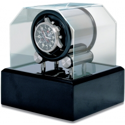 Single Watch Winder W34002 Orbita Futura 1 Programmable Acrylic Lid