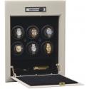 Orbita Wallsafe 6 Watch Winder Safe W21700 Steel