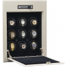 Orbita Wallsafe 9 Automatic Watch Winder Safe W21702 Steel