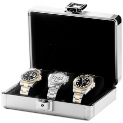 Orbita Lugano 3 Watch Travel Case W81000 Aluminum