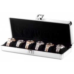 Orbita Lugano 6 Watch Travel Case W81000 Aluminum