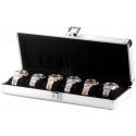 Orbita Lugano 6 Watch Travel Case W81000 Aluminum