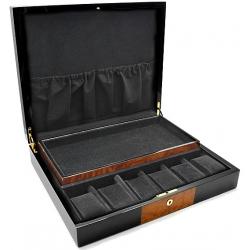 Twelve Watch Display Box Orbita Zurigo W80022 in Black