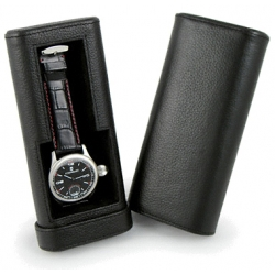 Orbita Verona 1 Watch Travel Case W93000 Black Leather