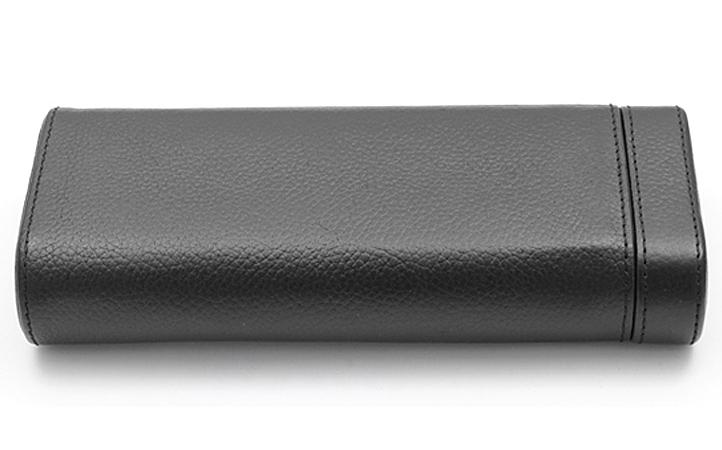 99c4722a8fa ... Single Watch Travel Box Orbita Verona W93000 in Black Leather