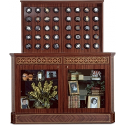 Orbita Bergamo Rosewood 40 Watch Winder Cabinet W60036