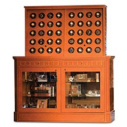 Orbita Bergamo Madrona Burl 40 Watch Winder Cabinet W60034