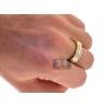 14K Yellow Gold 1.30 ct Diamond His Hers Wedding 3-Ring Set
