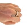 10K Yellow Gold 0.95 ct Diamond Mens Womens Bridal 3 Rings Set