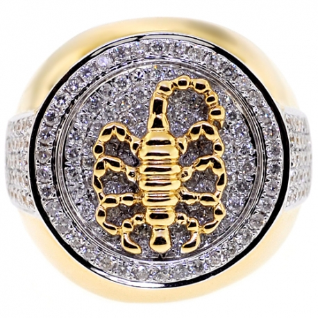Mens Scorpion Ring