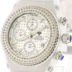 Aqua Master Sport 1.00 ct Diamond Mens White Watch