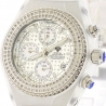 Mens Diamond White Watch Aqua Master Sport Plastic 1.00 ct