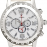 Aqua Master Jumbo 0.24 ct Diamond Mens White Dial Watch
