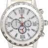 Aqua Master Jumbo 0.24 ct Diamond Mens White Dial Watch