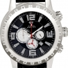 Aqua Master Jumbo 0.24 ct Diamond Mens Steel Watch