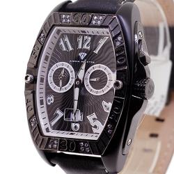 Aqua Master Aluminium 0.50 ct Diamond Mens Black PVD Watch