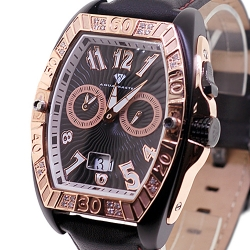 Aqua Master Aluminium 0.50 ct Diamond Mens Two Tone Watch