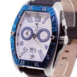 Aqua Master Aluminium 0.50 ct Diamond Mens Two Color Watch