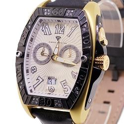 Aqua Master Aluminium 0.50 ct Diamond Mens Yellow Watch