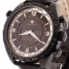 Aqua Master Digital 1.50 ct Black Diamond Mens Watch
