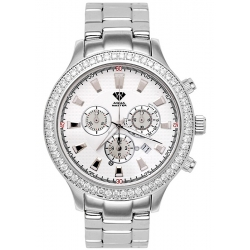 Aqua Master Rio 2.45 ct Diamond Mens White Dial Watch