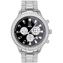 Aqua Master Rio 2.45 ct Diamond Mens Steel Watch