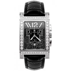 Aqua Master Cabarnet 5.60 ct Diamond Womens Black Dial Watch